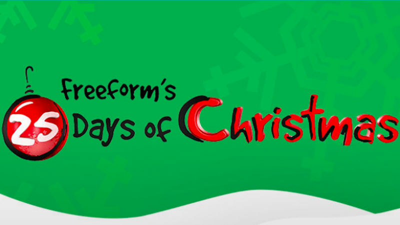 Freeform Countdown to 25 Days of Christmas Movie Schedule Announced